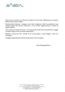 Recensione avvocato Ausiello Arch Marotta
